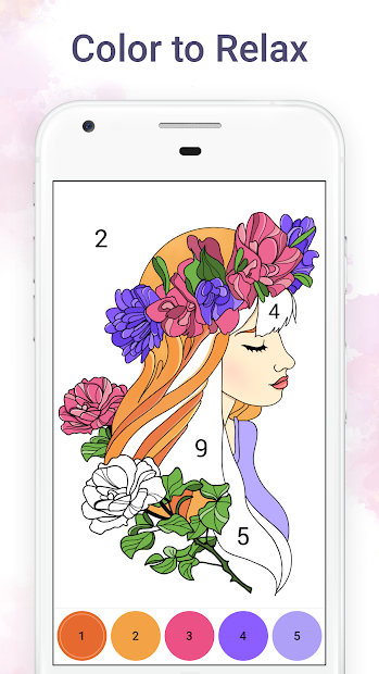 Chamy - Color by Number Android App Screenshot