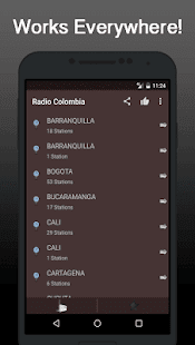 Radio Online Colombia - náhled
