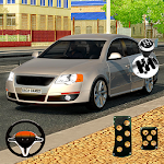 Car Driving Simulator Stunt Tracks Icon