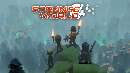 Strange World - Offline Survival RTS Game  captures d'écran 1