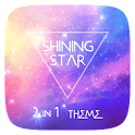 Shining Star 2 In 1 Theme icon