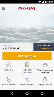 Pegasus | Ucuz Uçak Bileti Screenshot