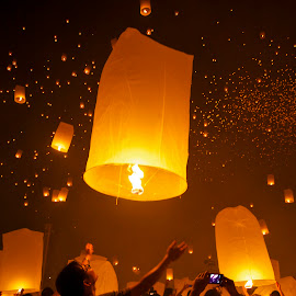 Yee Peng Lantern Festival by Flona Hakim - Public Holidays Other ( lantern, buddhist, cultural, festival, celebration )