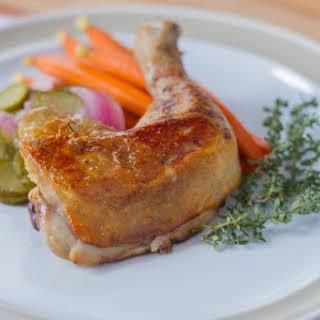 Chicken Leg Confit Recipes.