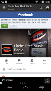 Litefm Free Music Radio- miniatura screenshot