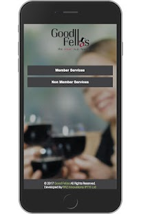 Good Fellas - Booking App- screenshot thumbnail
