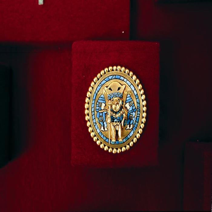 Moneda de Oro del Museo del Oro de Lima