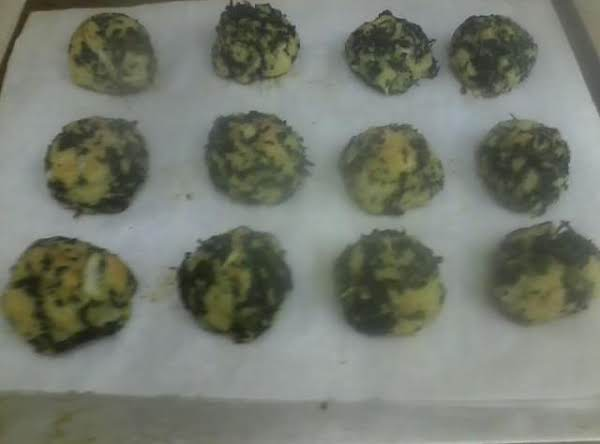Parmesan Spinach Balls Recipe