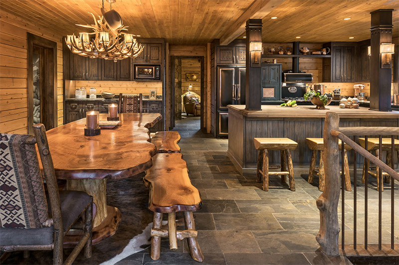 27 Log Cabin Interior Design Ideas | TruLog Siding