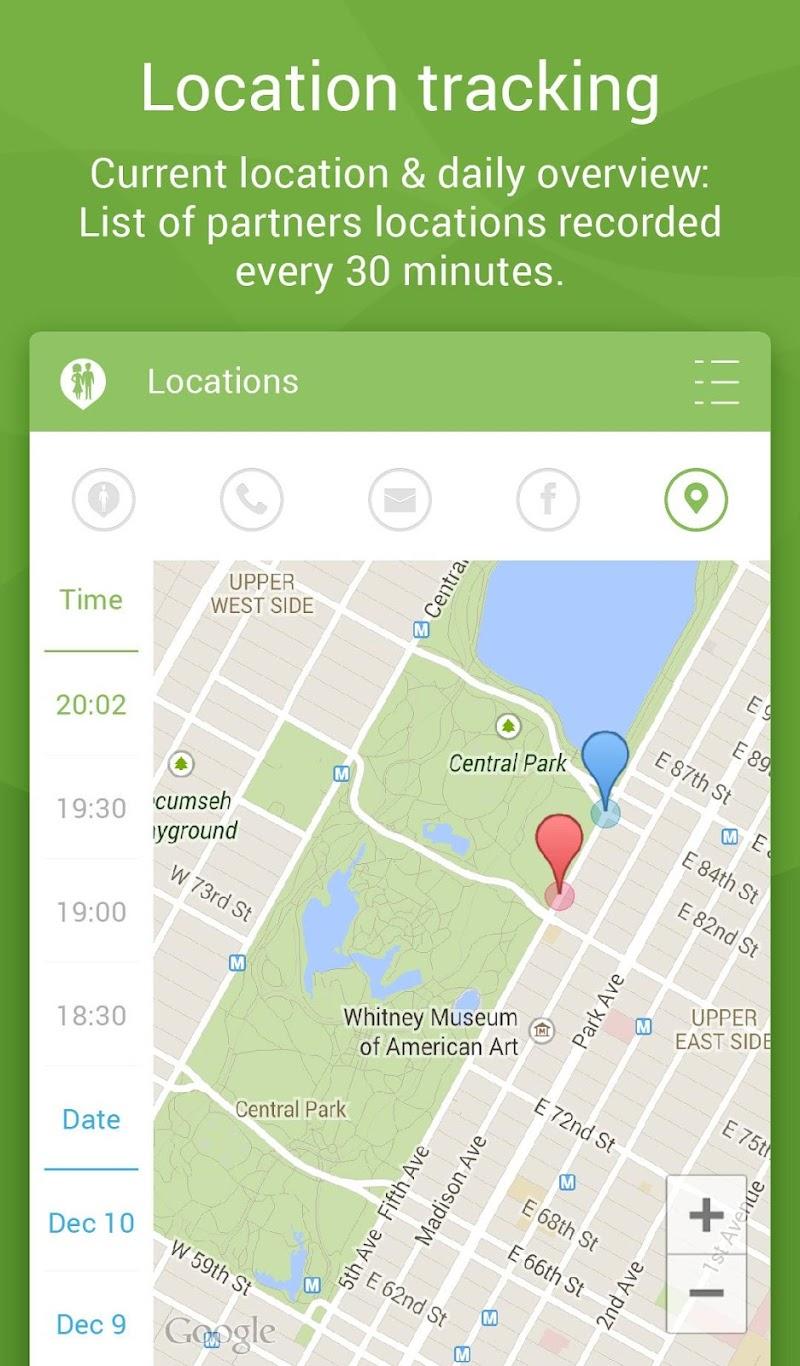 Couple Tracker Pro - Cell phone monitoring Screenshot 18