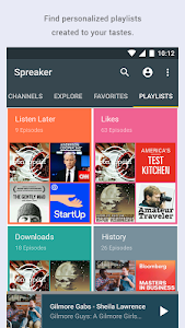 Spreaker Podcast Radio screenshot 0