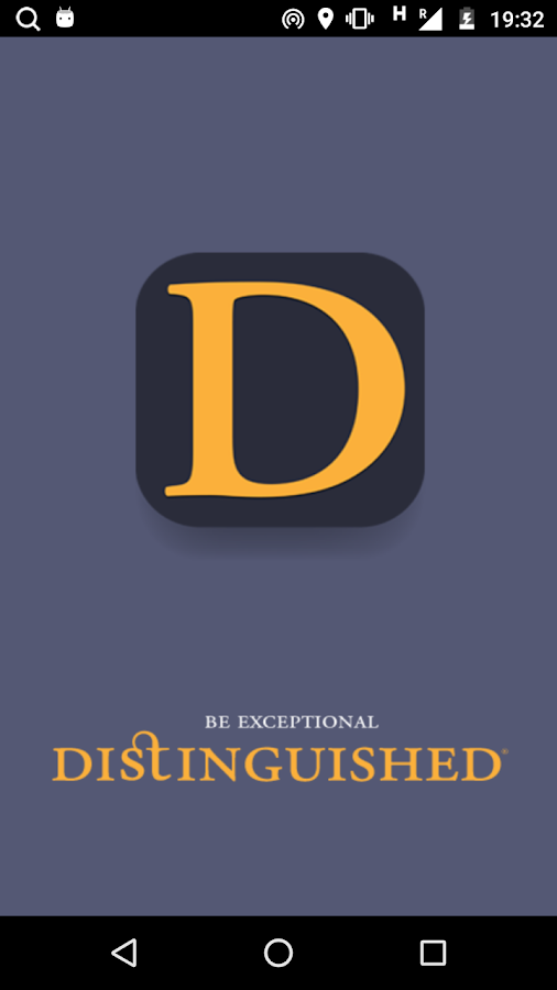 Distinguished Magazine- screenshot