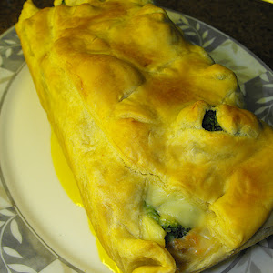 Puff Pastry Tuna and Vegetable Loaf
