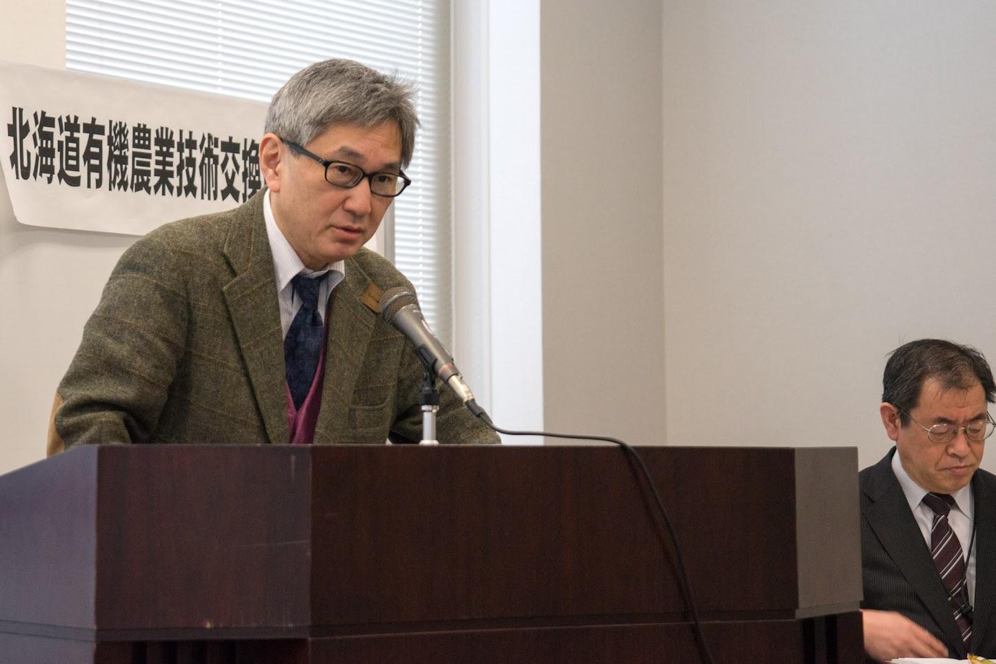 北海道農政部食の安全推進局・小野悟 局長