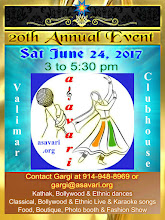 Photo: Sat June 24, 2017 from 3 to 5:30 pm... variety entertainment, boutique, snacks, photo shoot... for details, please see  http://asavari.org/20th_annual_event