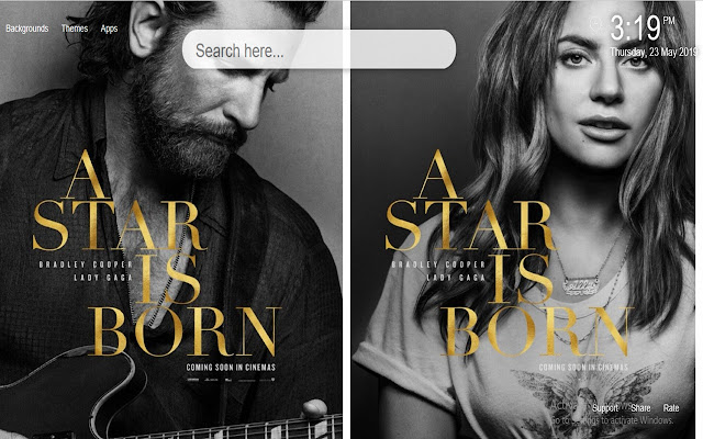 A Star Is Born Wallpapers New Tab
