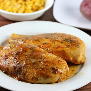 Baked Honey Mustard Chicken.