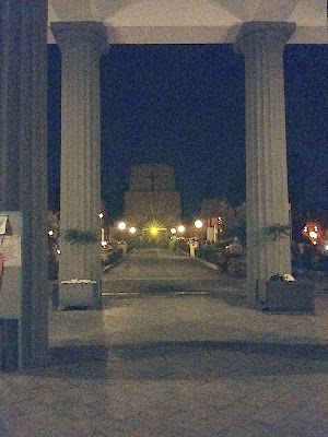 Cimitero di notte di @7516cc