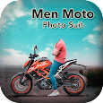 Men Moto Bike Photo Suit : Bike Photo Editor icon