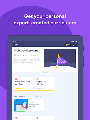 Mimo: Learn coding in JavaScript, Python and HTML 2.31 screenshots 12