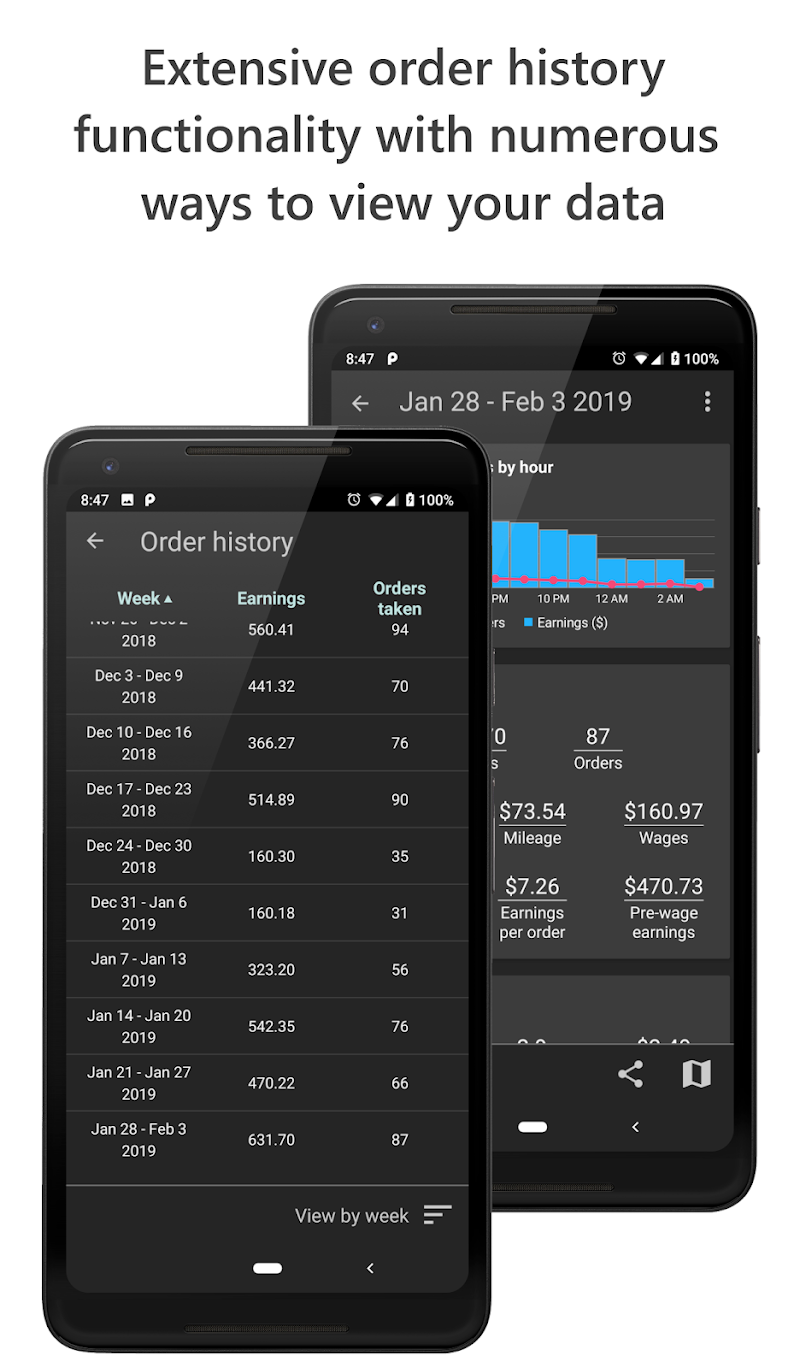 Delivery Tip Tracker Pro Screenshot 4