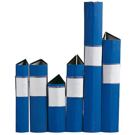 Träryggspärm A5 blå
