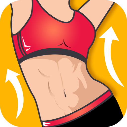 Abs workout - do exercise at home & lose belly fat Icon
