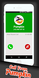 Calling Halloween Pumpkin - náhled