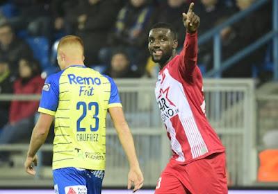 Officiel: Frantzdy Pierrot quitte Mouscron pour Guingamp