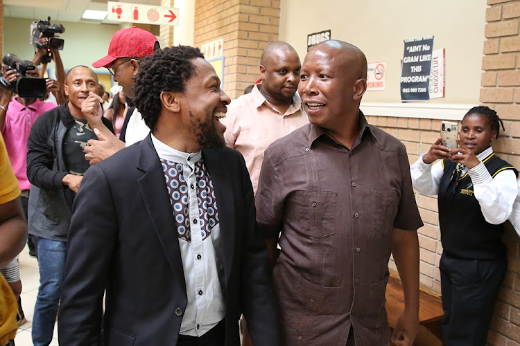 'Black excellence only applies to DJs?': Malema and Ndlozi questioned for hiring white lawyer
