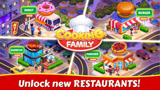 Cooking Family :Craze Madness Restaurant Food Game  screenshots 3