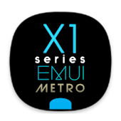 X1S Metro EMUI 5 Theme (Black) Android APK Download Free By Absoft Studio
