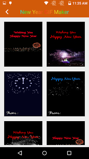 New Year 2019 GIF Maker with Name 1.5 screenshots 2