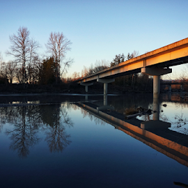 Over the Stilly  by Todd Reynolds - Buildings & Architecture Bridges & Suspended Structures