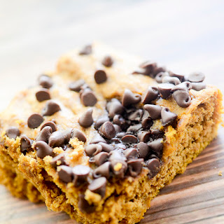 Weight Watcher's Pumpkin Chocolate Chip Bars