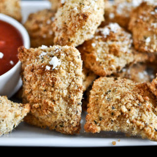 Crunchy Oven-Fried Cheese Ravioli.