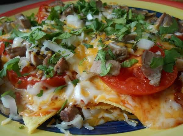 Roasted Tomato Nachos Thai Mexican Style Recipe