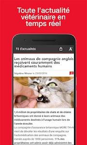 Le Point Vétérinaire.fr screenshot 0