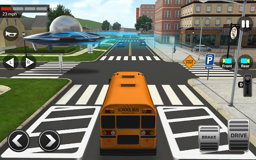 Super High School Bus Driving Simulator 3D - 2020 2.2 screenshots 9