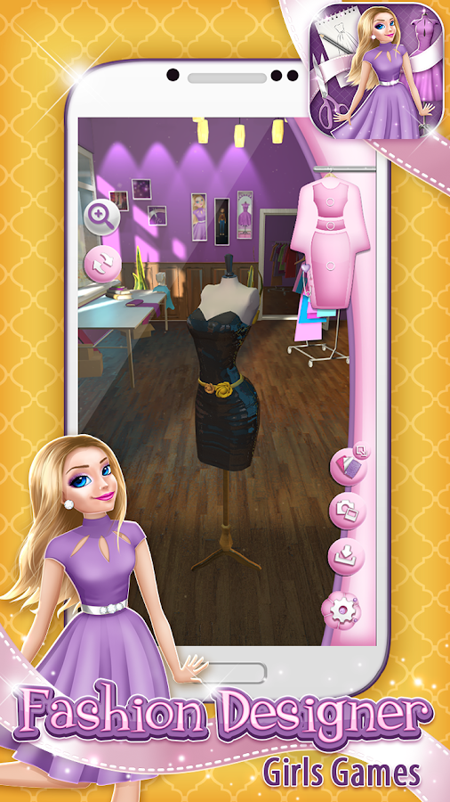 Fashion Designer Girls Games- screenshot