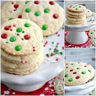 Christmas Cookies – Funfetti Cookies
