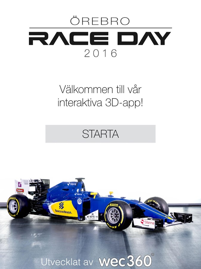 RaceDay 2016- screenshot