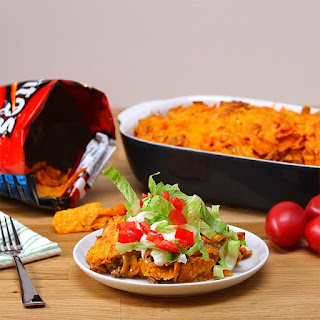 This Layered Doritos Casserole Scores the Big Win on Delicious!
