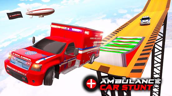 Ambulance car stunts – Mega Ramp Stunts for PC-Windows 7,8,10 and Mac apk screenshot 3
