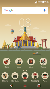 Thailand ND Xperia Theme - náhled