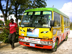 Photo: On my birthday, we did this! The One Love Bus Bar tour of Negril. SUCH a blast!