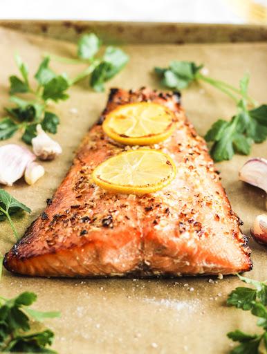The Easiest Honey Garlic Salmon