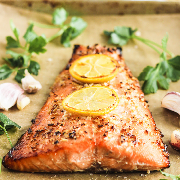 The Easiest Honey Garlic Salmon Recipe