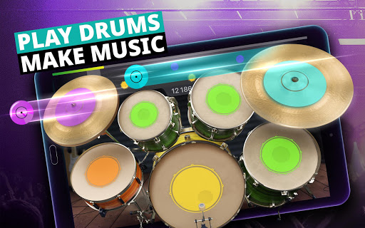 Drum Set Music Games & Drums Kit Simulator screenshot 9