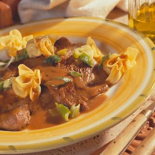 Kalbsschnitzel Marsala